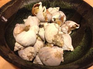 boiled tsubugai