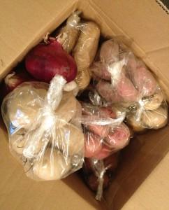 9種類のジャガイモ