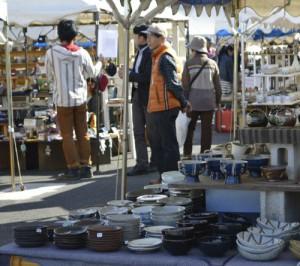 pottery shops